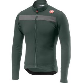 Castelli Puro 3 Bike Jersey Longsleeve Men grey